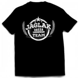 """SportoweSuple.pl - Koszulka 004 """"Jaglak Team"""" czarna"""
