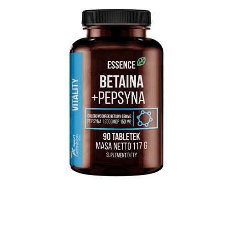 Essence Nutrition - Beatine HCL + Pepsin 90tab