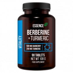 Essence Nutrition - Berberine + Turmeric 90tab