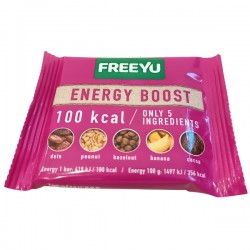 FreeYu - Baton Daktylowy Energy Boost 100kcal 28g