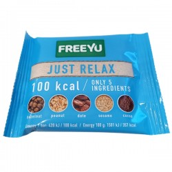 FreeYu - Baton Daktylowy Just Relax 100kcal 28g