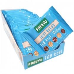 FreeYu - Baton Daktylowy Just Relax 100kcal KARTON 24x28g