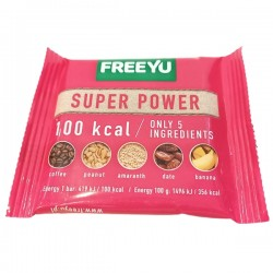 FreeYu - Baton Daktylowy Super Power 100kcal 28g