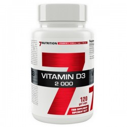 7Nutrition Vitamin D3 2000 120kap