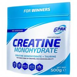 6PAK Creatine Monohydrate 500g (bag)