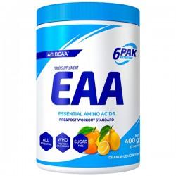 6PAK EAA 400g pomarańcz-cytryna