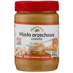 NATURAVENA 510g Masło orzechowe crunchy
