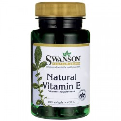 Swanson - Natural Vitamin E 100kap