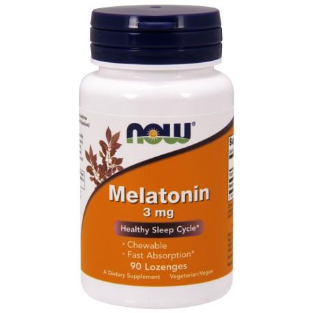 Now - Melatonin Chewable 3mg 90kap