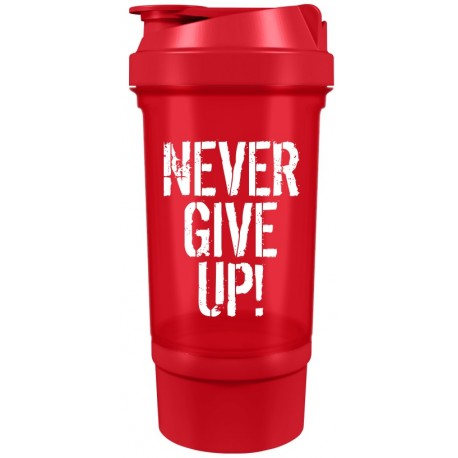 Suple Shaker Smart 0,5L - NEVER GIVE UP