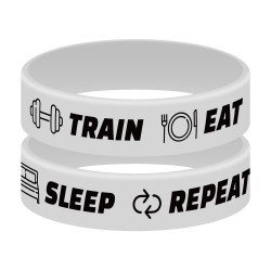 Opaska Suple - TRAIN, EAT, REPEAT