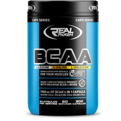 Real Pharm - BCAA 300 caps.