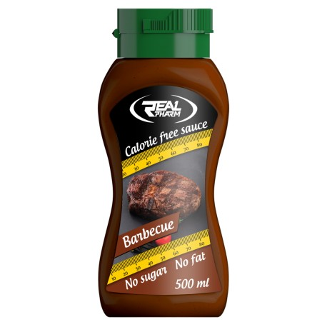 Real Pharm - Syrop Zero Kcal 500ml Barbecue