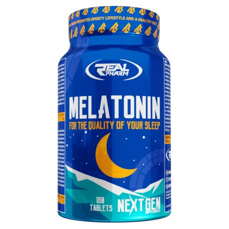 Real Pharm - Melatonin 180tab