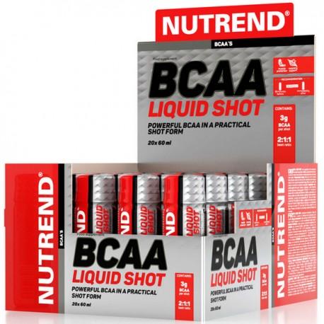Nutrend - BCAA Mega Shot 20 x 60ml
