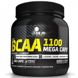 Olimp BCAA 1100 Mega Caps 300kap