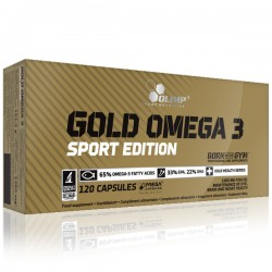 Olimp - Gold Omega 3 Sport Edition 120kap