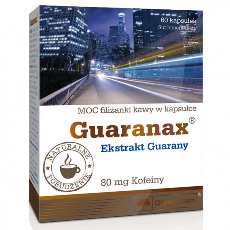 Olimp Guaranax Ekstrakt Guarany 60kap