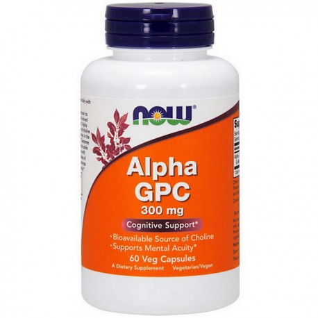 NOW - Alpha GPC 300mg 60vkap