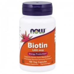 NOW Biotin 1000mcg 100vkap