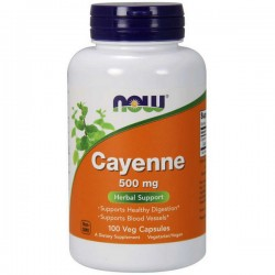 NOW Cayenne 500mg - 100kap