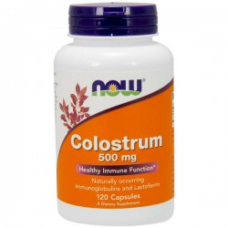 NOW Colostrum 500g 120 kaps