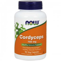 NOW - Cordyceps 750mg 90vkap
