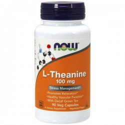 NOW L-Theanine 100mg 90vkap