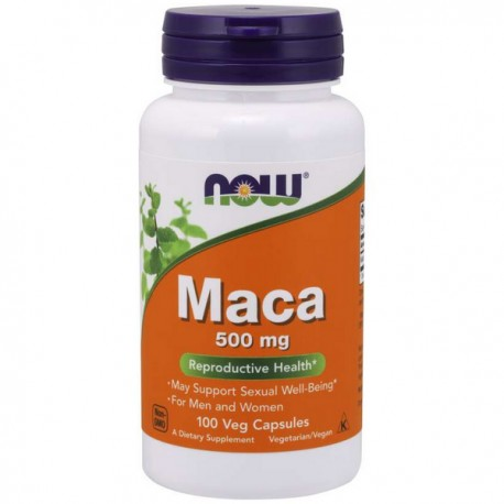 NOW Maca 500mg 100 kaps