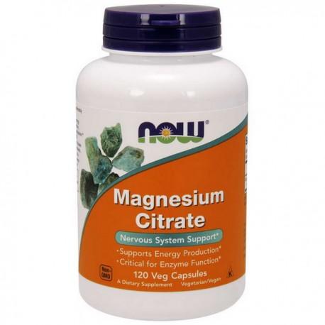 NOW Magnesium Cirate 400mg 120vkap