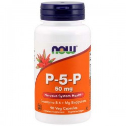 NOW P-5-P 50mg 90kap