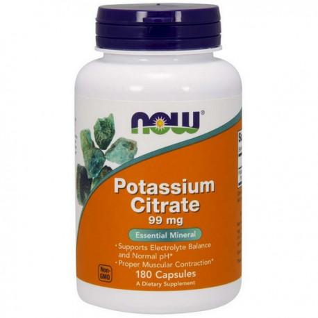 NOW Potasium Citrate 99mg 180kap