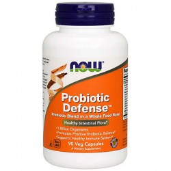 NOW Probiotic Defense - 90vegcaps