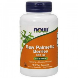 NOW Saw Palmetto Berries 550mg 100vkap