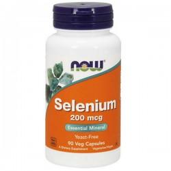 NOW Selenium 200mcg 90kap