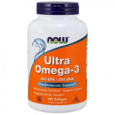 NOW FOODS Ultra Omega-3 180 kapsułek