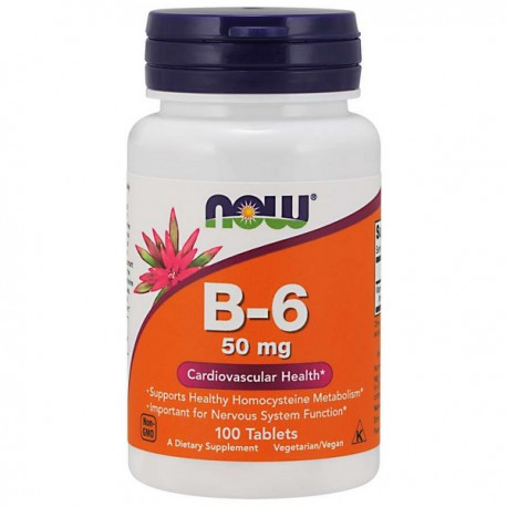 NOW Foods - Vitamin B-6 100kap