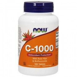 NOW Vitamin C-100 100tab