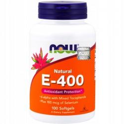 NOW - Vtamin E-400 100kap