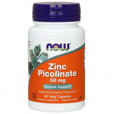 NOW Zinc Picolinate 50mg 60kap