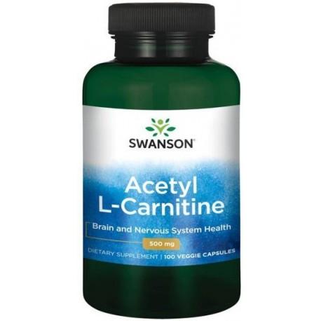 Swanson - ALC Acetyl L-Karnityna 100kap