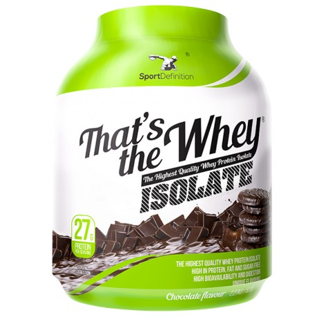 Sport Definition - That's The Whey Isolate 2100g