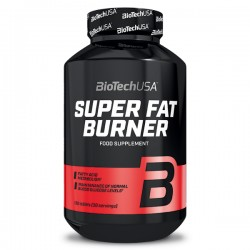 BioTechUSA Super Fat Burner 120tab