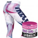 Trec Wear - Trec Girl Legginsy 06 Jasne-multikolor