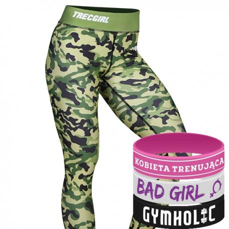 Trec Wear - Trec Girl Legginsy 19 Strong Camo