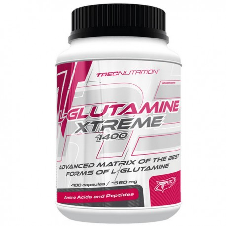 Trec - L-Glutamine Xtreme 400kap