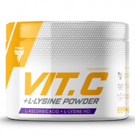 TREC - Vit. C + L- Lysine Powder 300g
