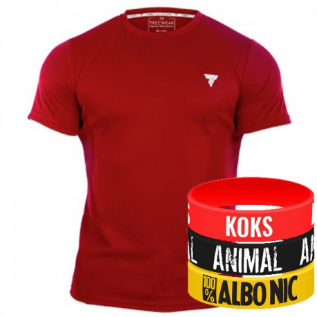 Trec Wear - Koszulka Cooltrec 005 Czerwona