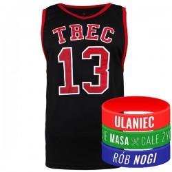 Trec Wear - Koszulka Jersey 001 Czerwona