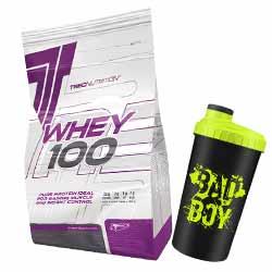 Whey 100 + Shaker